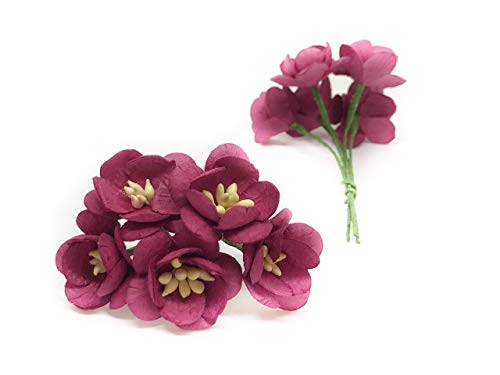 1-Maroon-Cherry-Blossom-Flower-Artificial-Flowers-Paper-Flowers-Synthetic-Flowers-Fake-Flowers-Paper-Craft-Flowers-Mulberry-Paper-Flowers-Wedding-25-Pieces