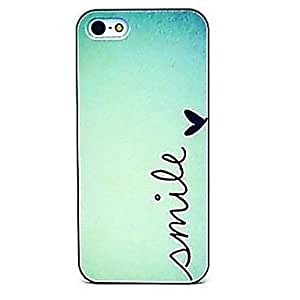GJY Simple Smile Pattern Hard Case for iPhone 4/4S