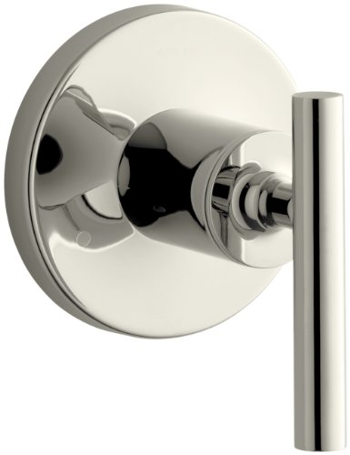 (KOHLER K-T14491-4-SN Purist Transfer Valve Trim, Vibrant Polished Nickel)