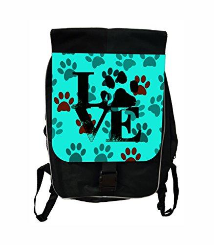 Pawprints Love Lea Elliot Tm School Backpack And Pencil Case Set