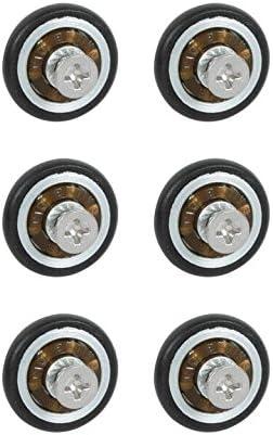 Micel-Vega. Nv107609 - Rueda mampara rodamiento metalico 20mm con tornillo ne nivel: Amazon.es: Bricolaje y herramientas