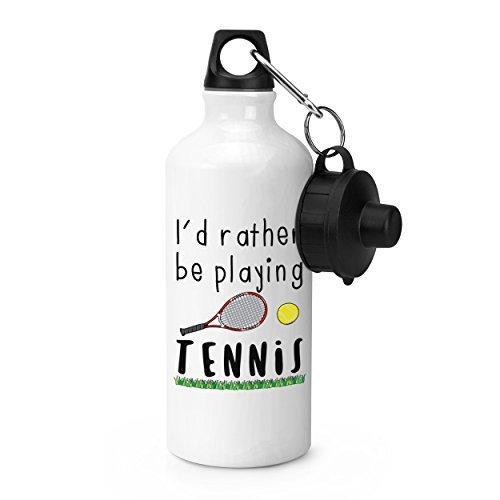 I'd Rather Be de jeu sport tennis bouteille