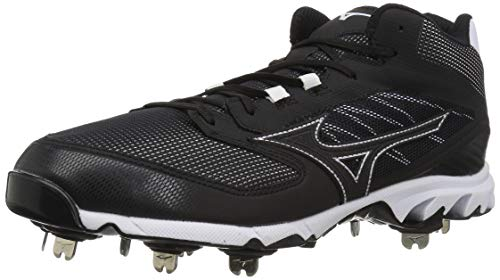 Mizuno 9-Spike Dominant IC MID 9 Black/White