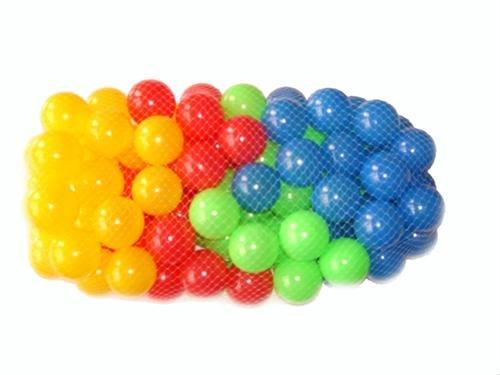 1000 Stück Kinder Bälle Ball Plastikbälle Spielball Spielbälle für Bällebad