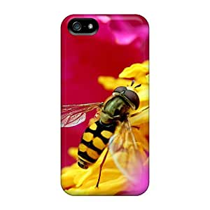 Top Quality Protection Pink Bee Cases Covers For Iphone 5/5s