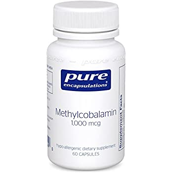 Pure Encapsulations - Methylcobalamin - Advanced Vitamin B12 for a Healthy Nervous System* - 60 Capsules