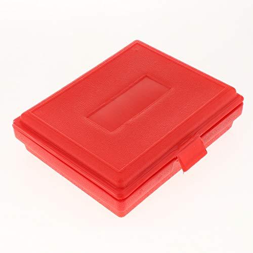 Perfeclan 鋼製 ブロックゲージセット パラレル ゲージブロック ケース付き 精密 約20個