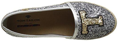 Tailor Espadrillas Argento 2792005 silver Basse Tom Donna gpEdqgw
