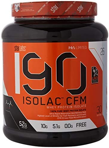 Starlabs Nutrition I90 Isolac CFM Strawberry Milkshake - 908 gr