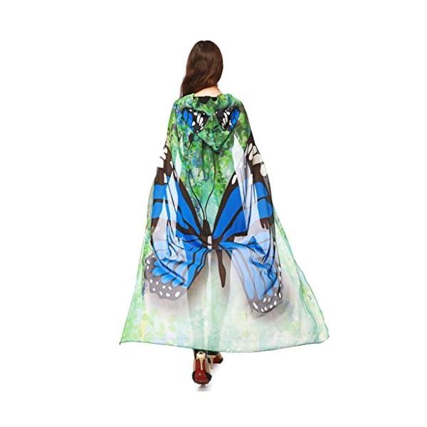 Halloween Peacock Poncho Shawl Wrap Outerwear