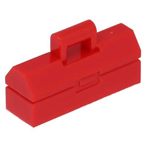 LEGO Parts: Red Minifig Utensil Toolbox - x1 Loose