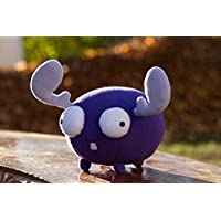 Invader Zim inspired - handmade Mini Moose plush, 8.6 in , soft toy