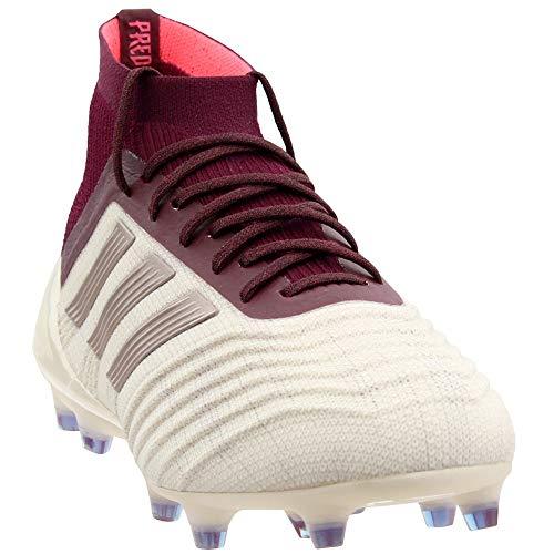 adidas Womens Predator 18.1 Firm Ground Soccer Casual Cleats, Beige, 9 (Adidas Predator Absolion Fg White White White)