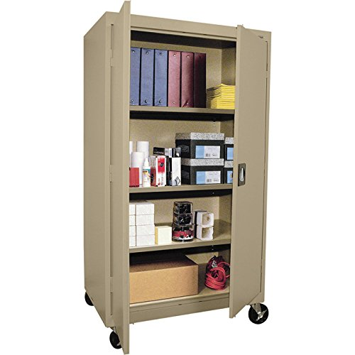 Sandusky Lee TA3R362460-04 Transport Series Mobile Storage Cabinet, Tropic - Storage Transport Mobile