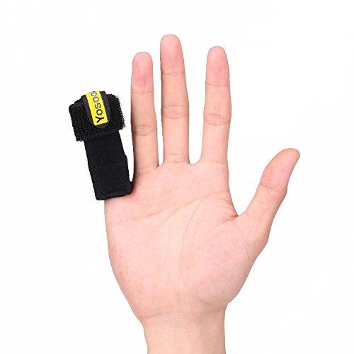 Férula ajustable para dedos con cinturón de palma protección para todos los  dedos  Amazon.es  Belleza dfc6fc96fc6b