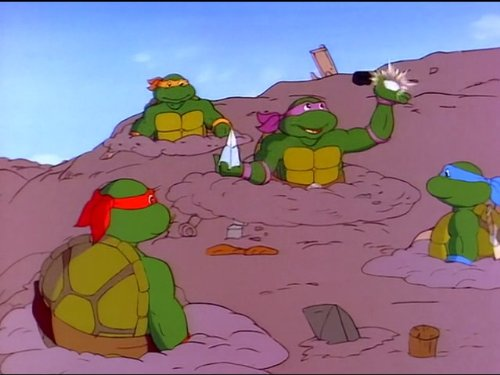 The Incredible Shrinking (Ninja Turtles Show)