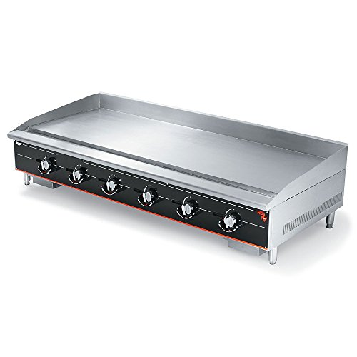 "Vollrath (972GGM) 72"" Heavy-Duty Flat Top Griddle - Cayenne® Series"