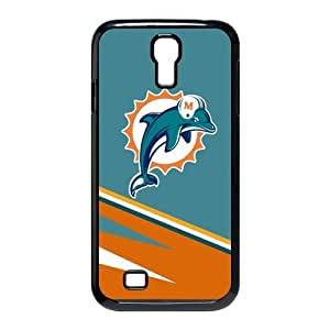 FroomCase NFL Miami Dolphins Logo Black SamSung Galaxy S4 I9500 Durable Case Good Gift/