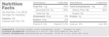 Navitas Naturals Cacao Nibs - Organic - Raw - 8 oz - 12 Pack