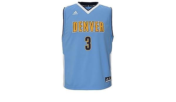 Adidas Paul George Indiana Pacers niño NBA réplica de la Camiseta de la Primera equipación - - Blue: Amazon.es: Deportes y aire libre