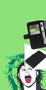 "A-type (Popper Pill"") Colorida Impresión Funda Cuero Monedero Caja Bolsa Cubierta Caja Piel Card Slots Para Sony Xperia Z4v / Sony Xperia Z4 / E6508"