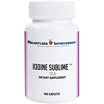 Amazon com: Zen Haus 12 5 mg Iodine Potassium Iodide
