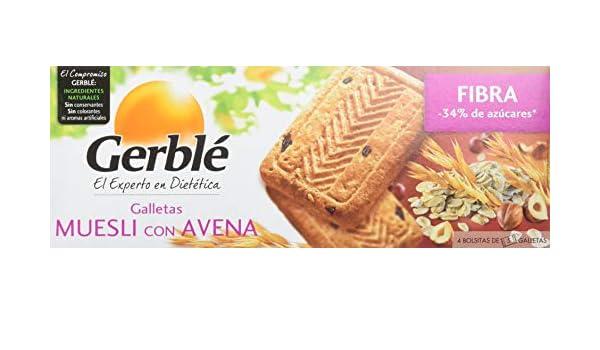 Gerble - Galletas Muesli Con Avena Paquete - 230 gr: Amazon.es: Amazon Pantry