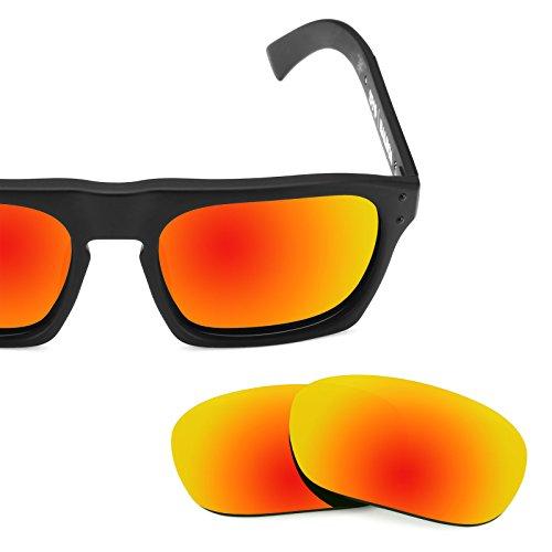 — Lentes para Opciones Rojo repuesto múltiples Spy Balboa de Mirrorshield Optic Polarizados Fuego YUrWUwOTCa
