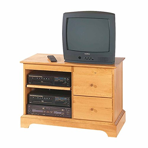 Entertainment Console Heirloom Pine Kit 25