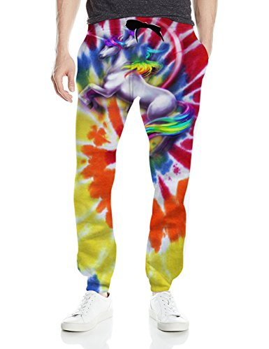 3-D Jogging Pants!