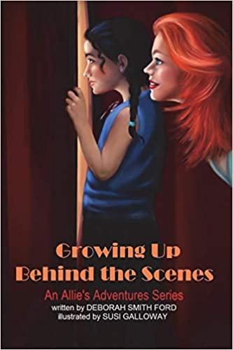 Growing Up Behind the Scenes: Black and White (Allie's Adventures) (Volume 5)