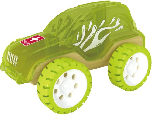 - Hape Trailblazer Bamboo Kid's Toy Car