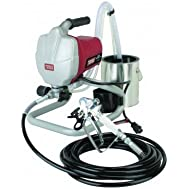 5/8 HP 3000 PSI Airless Paint Sprayer Kit; Includes Stainless Steel Paint pick-up, Gun with Built-in Filter, trigger-lock...