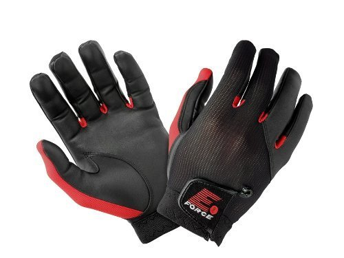 E-Force Weapon Racquetball Glove (Black/Red)-LXL by E-Force