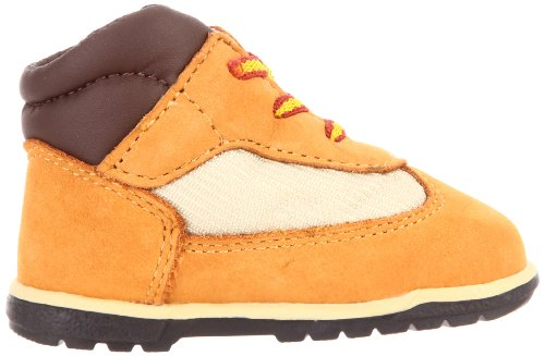 Pictures of Timberland Field Crib Bootie (Infant) Brown 3