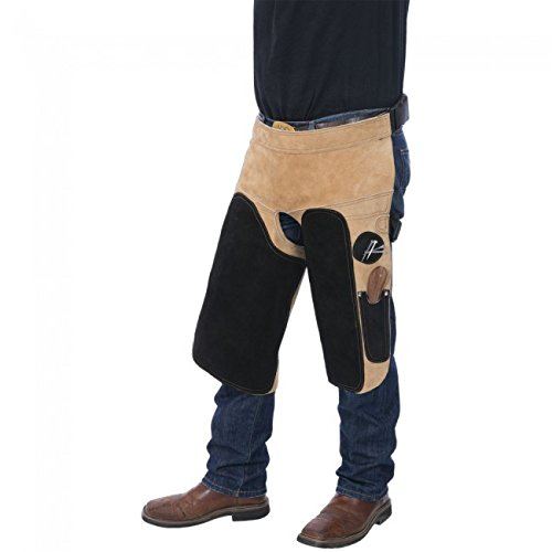 Tough-1 Professional Deluxe Leather Farrier Apron by Tough-1