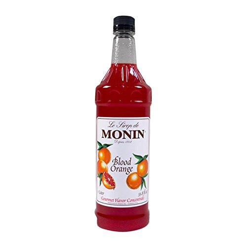 Monin Inc M-FR069F Blood Orange Syrup PET (SET OF 4 PER CASE) Blood Orange Tart