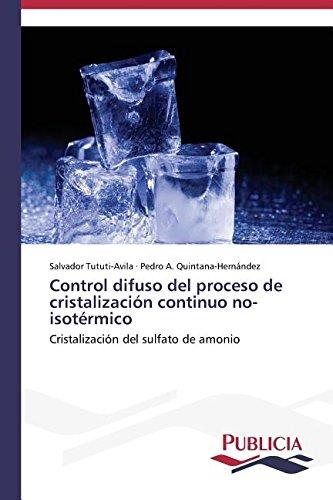 Descargar Libro Control Difuso Del Proceso De Cristalización Continuo No-isotérmico Tututi-avila Salvador
