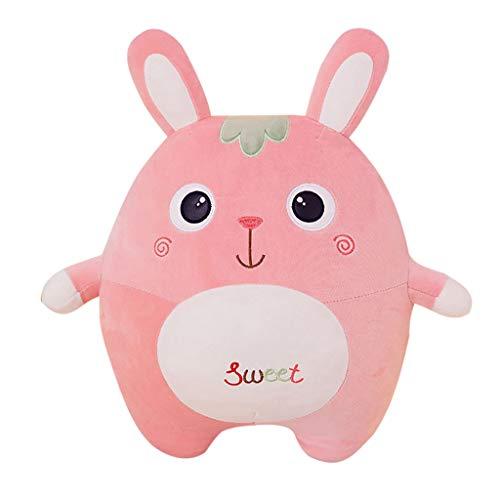 Cute Small Bunny Stuffed Animal Super Soft Plush Toy Pillow Pet Animal Pillow Pal Buddy Stuffed Animals Cartoon Dolls Child Girl Baby Accompany Sleeping Animal Toys Gift No Lint