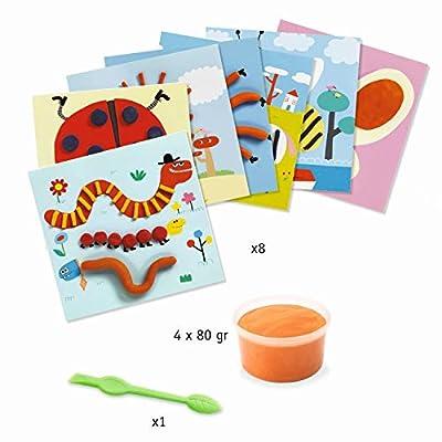 DJECO Drawings Dough Craft Kit: Toys & Games