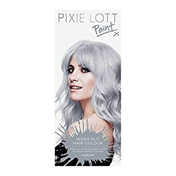 amazon com pixie lott paint wash out hair colour starlight 101 by