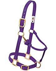 Weaver Leather Original Adjustable 3/4-Inch Suckling Chin and Throat Snap Halter