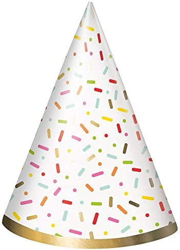 Unique Party 72591 - Donut Party Hats Pack of 8
