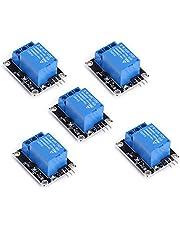 Teyleten Robot SongHe 5pcs/lot 5V 1 Channel Relay Module Board Shield Relay Board Ky-019