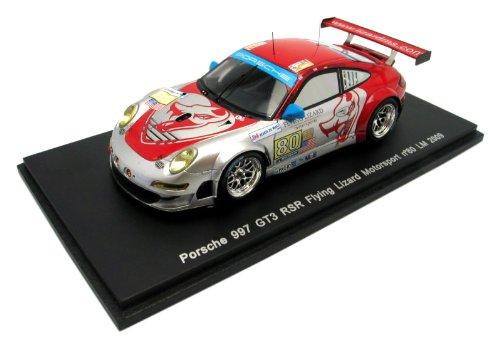 Porsche 997 GT3 RSR Flying Lizard Motorsport # 80 SN (1/43 S1956) (japan import) ()