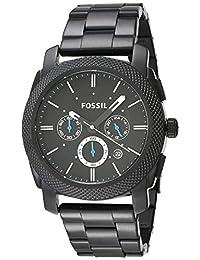 Fossil FS4552 Reloj Machine, Análogo, Redondo para Hombre