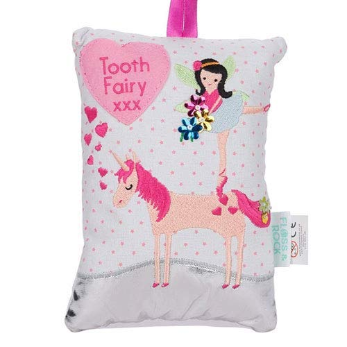 Floss & Rock Fairy Unicorn Tooth Fairy Pillow