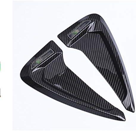 NO LOGO Car-Estilo Frontal de TPU Guardabarros del Lado del Aire tiburón branquias de ventilación Laterales Ajuste de la Cubierta Etiqueta for BMW E60 E90 F20 F30 F10 F18 F25 E92 F26 F48