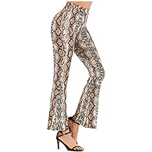 Printed High Waist Pant Trouser