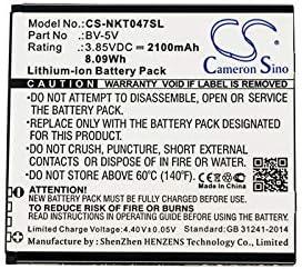 2100mAh//3.85V Battery Replacement for Nokia 1 TA-1047 BV-5V